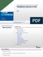 Multiplexes Industry in India_Feedback OTS_2013.pdf