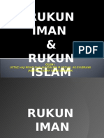 Rukun Iman & Islam