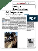 La Nuova Ferrara 6 novembre 2013