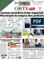Periodico Norte de Ciudad Juarez 7 de Noviembre de 2013