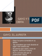 GAYO Y SU OBRA