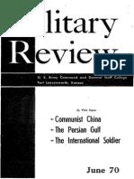 Military Review June 1970