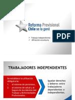 Reforma Previsional - Independientes