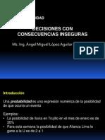DECISIONES BAJO RIESGO - INTRODUCCIÓN A PROBABILIDADES