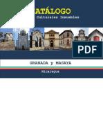1.-Catalogo Bienes Culturales Inmuebles Departamentos de Granada y Masaya