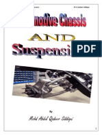 Automotive chassis and suspension by M A Qadeer
