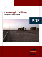 Il saccheggio dell'Iraq