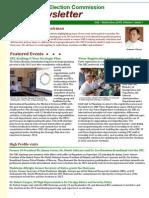 UEC Newsletter July - September 2013 (English Version)
