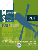 SMS Toolkit US Joint Helicopter Safety Team Sept 09