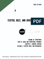 NASA Flutter, Buzz, And Divergence