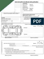 Contrat Location Vehicule Entre Particulier