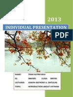 Final Presentation Planning