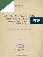 La Vie Monastique Chez Les Roumains