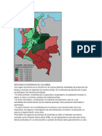 Regiones Economicas de Colombia