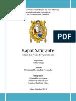 PRESIÓN DE VAPOR SATURANTE