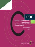 Software de Fuentes Abiertas Para El Desarrollo de Las AAPP Una Vision Global (1)