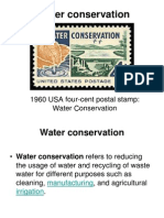 TOPIC 3 Water Conservation