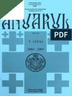 Anuar2004 2005 Teologie Sibiu