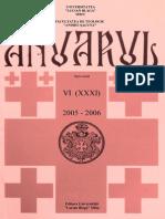 Anuar2005 2006 Teologie Sibiu