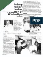 Otsuka Hironori meijin and Wado Ryu
