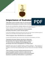 Rudraksha is the Symbol of Godhood