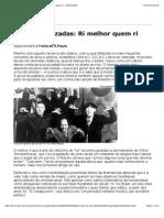 Folha Online - Sinapse - Leituras Cruzadas