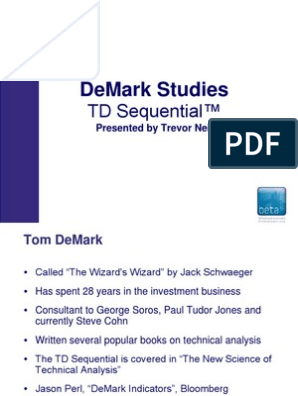 TD Sequential Best pdf | Technical Analysis | Futures Contract