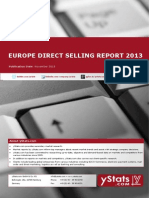 Brochure & Order Form_Europe Direct Selling Report 2013_Standard_by yStats