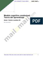Modelo Cognitivo Conductual-teoria Aprendizaje