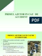 14.PRIMUL AJUTOR IN CAZ DE ACCIDENT.ppt