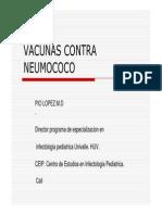 Vacunas Contra Neumococo ANIR 2013
