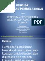 EDU3106 Budaya Dan Pembelajaran