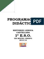 Programación del Refuerzo 13-14. 1º ESO.pdf