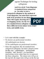 Venn Diagram Technique for testing syllogisms.ppt