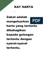 Zakat Harta