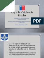 Ley Sobre Violencia Escolar