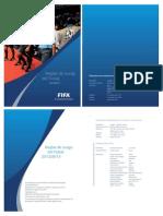 Reglas de Futsal 2012- 2013