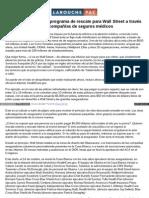 Spanish Larouchepac Com ObamaCare Rescate Wall-Street