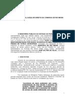 ACP com pedido de Tutela Antecipada - Depósito Irregular de Lixo