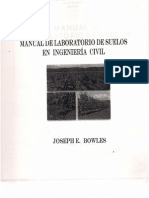 Manual de Laboratorio de Suelos