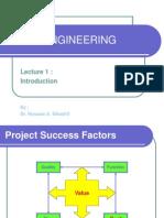 Value Engineering - lec 1