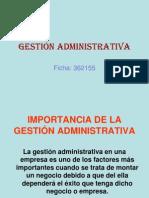 GESTIÓN ADMINISTRATIVA y FINANCIERA.ppt