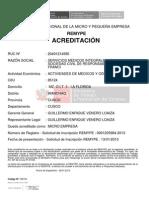 ACREDITACION REMYPE