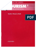 English for Careers Tourism 1 Teacher's Book - 100p
