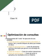Clase 16 - Optimización de consultas