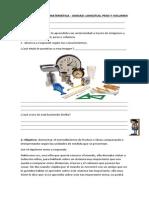 Guia de Inicio Matematica Longitud, Peso y Volumen.