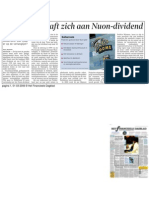 Nuon Dividend