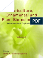 Floriculture, Ornamental and Plant Biotechnology Advances and Topical Issues