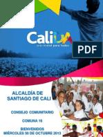 Consejo Comunitario Com. 16 - 30 Oct 2013