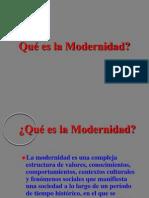 Ques Es Modernidad